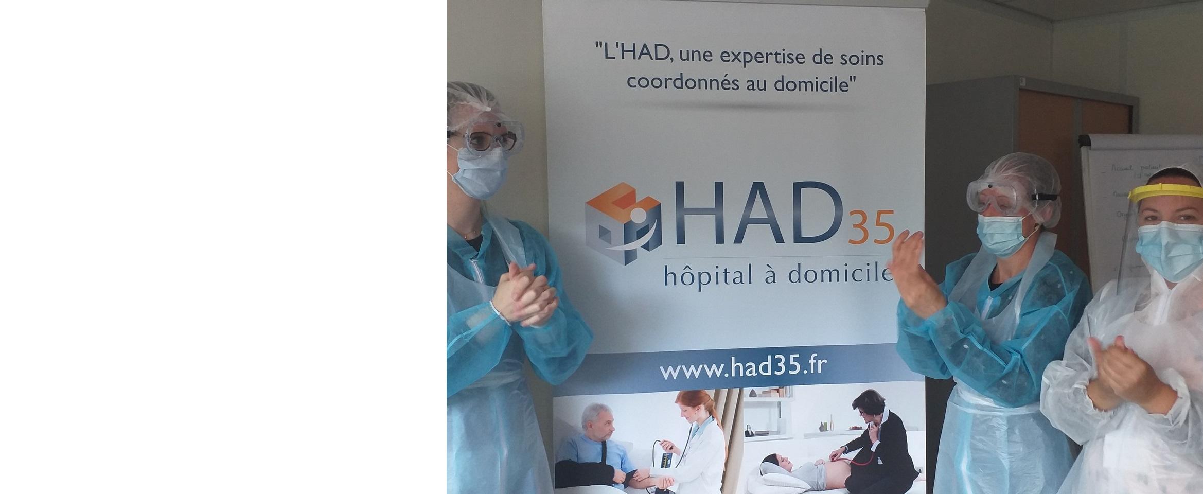 Hôpital à domicile à Rennes (Ille & Vilaine 8) - HAD 8